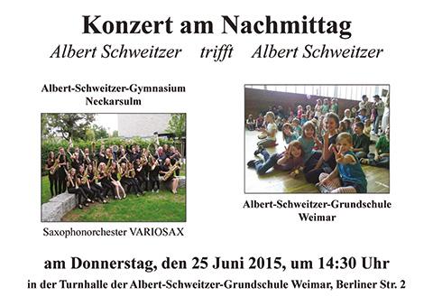 Plakat Weimar 2015